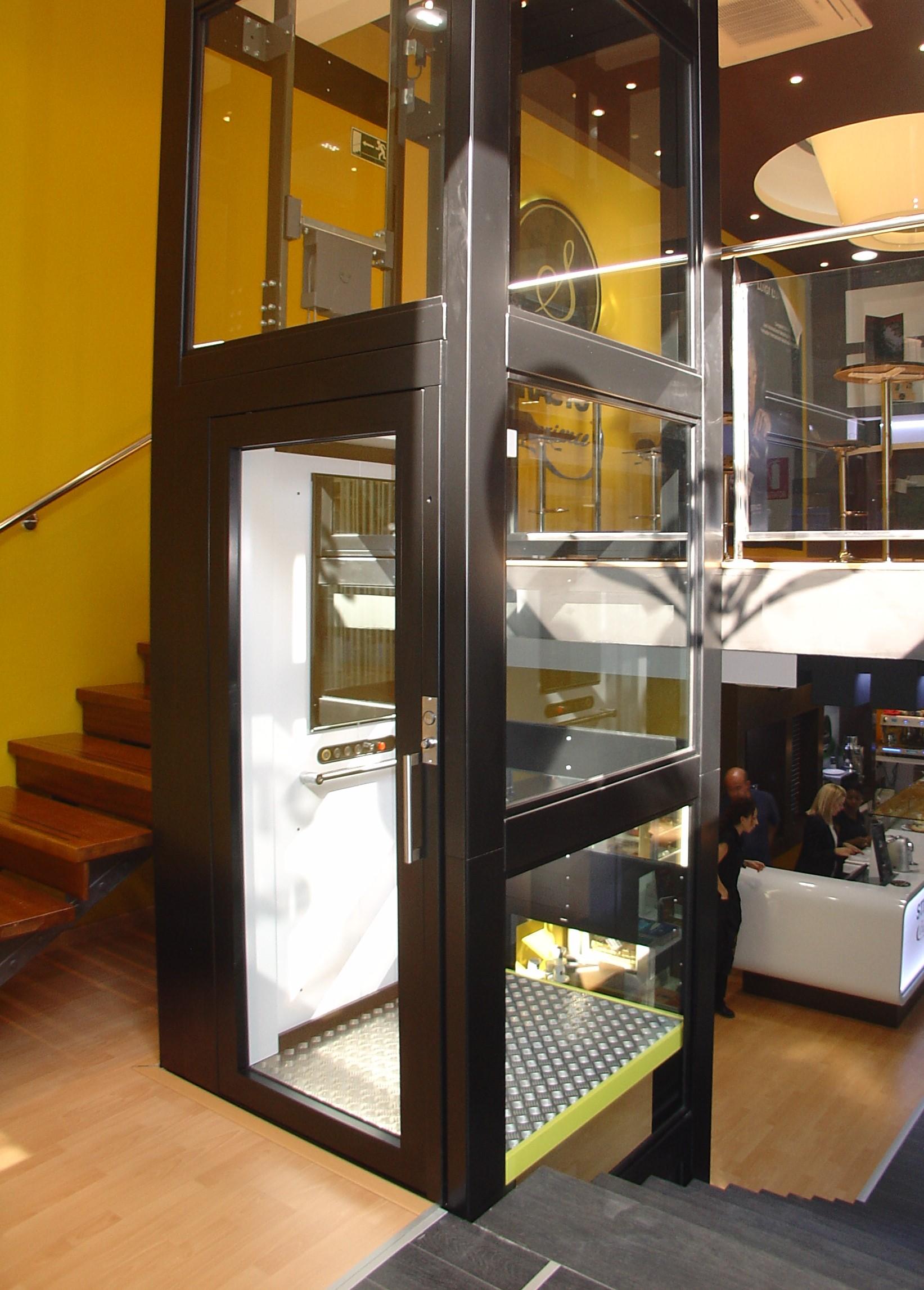 Plateforme verticale design